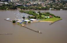 Clube dos Jangadeiros Foto aérea.