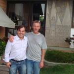 Marcelo Kern e Peter Nehm