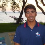 André Fonseca, , velejador do Clube dos Jangadeiros. Crédito Ivan Netto