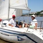 Aulas acontecem a bordo do barco escola Barra Limpa. Crédito Claudio Bergman (2)