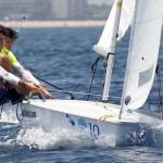 Tiago Brito e Andrei Kneipp, velejadores do Clube dos Jangadeiros. Divulgação (2)