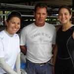 Fernanda Oliveira, Paulo Ribeiro e Ana Barbachan no Clube dos Jangadeiros. Crédito Ivan Netto (1)