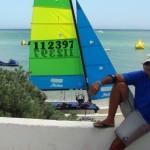 Mario Dubeux - 14ª Copa Cummins Marine de Hobie Cat 16 - 2011