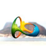 Escultura Olímpica. Fundo Praia de Botafogo. Primeiro Ensaio 10