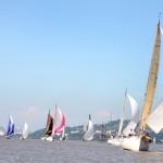 Regatas de vela de oceano devem reunir mais de 200 competidores nas águas do Guaíba. Crédito Claudio Bergman (5)