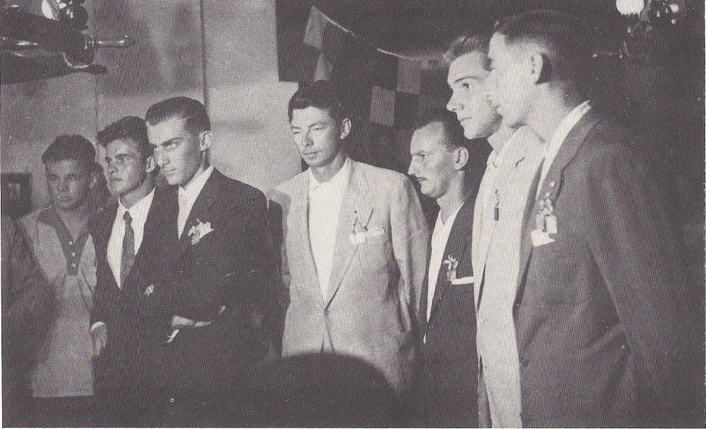 Campeonato Brasileiro de Snipe 1956, realizado no CDJ.