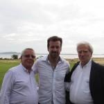 Vice Comodoro Pedro Pesce e Günter Staub