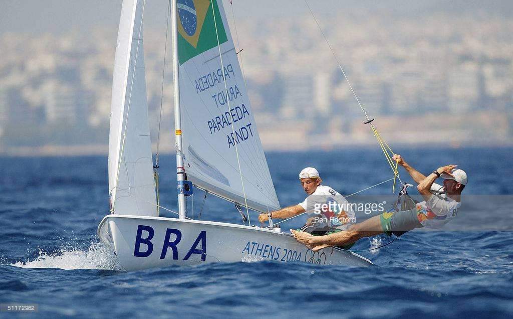 Alexandre Paradeda e Bernardo Arndt nas Olimpíadas de Atenas, 2004
