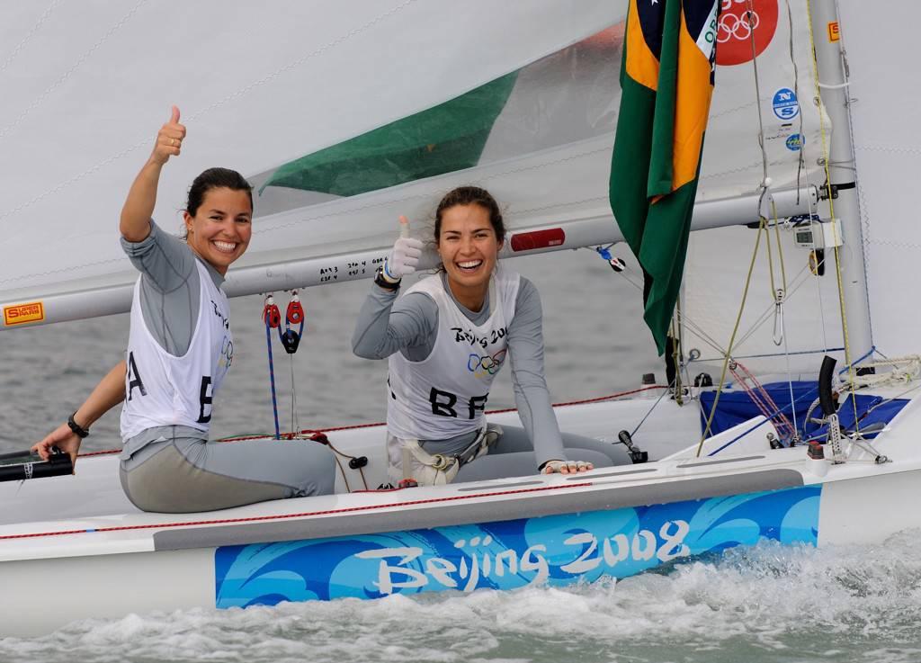 Fernanda Oliveira e Isabel Swan nas Olimpíadas de Pequim, 2008