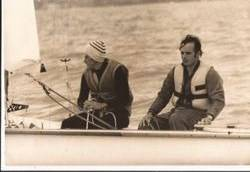 Marco Aurélio Paradeda e Luiz Alberto Aydos nas Olimpíadas de Montreal, 1976