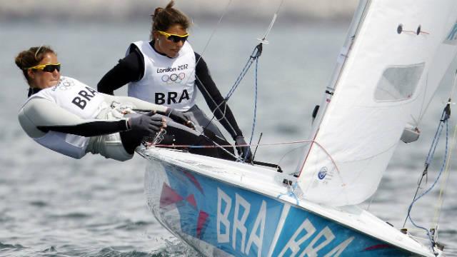 Fernanda Oliveira e Ana Barbachan nas Olimpíadas de Londres, 2012