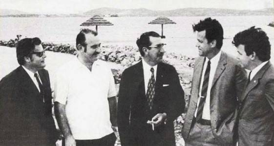 Edgar Siegmann, Edmundo Soares, Eng.Harry da Costa, Geraldo Linck e Kurt Keller