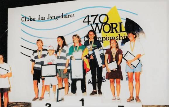 Premiação do Campeonato Mundial de 470 (1996)
