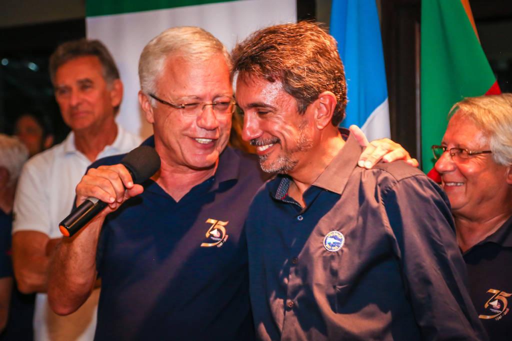 Comodoro Manuel Ruttkay Pereira e Comodoro Eduardo Ribas. Foto: Gustavo Roth / @AgenciaPreview