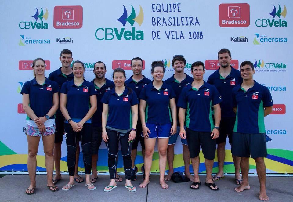 Equipe Brasileira de Vela 2018 Crédito CBVela