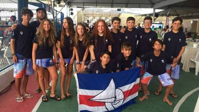 Equipe participante do Campeonato Brasileiro de Optimist 2018
